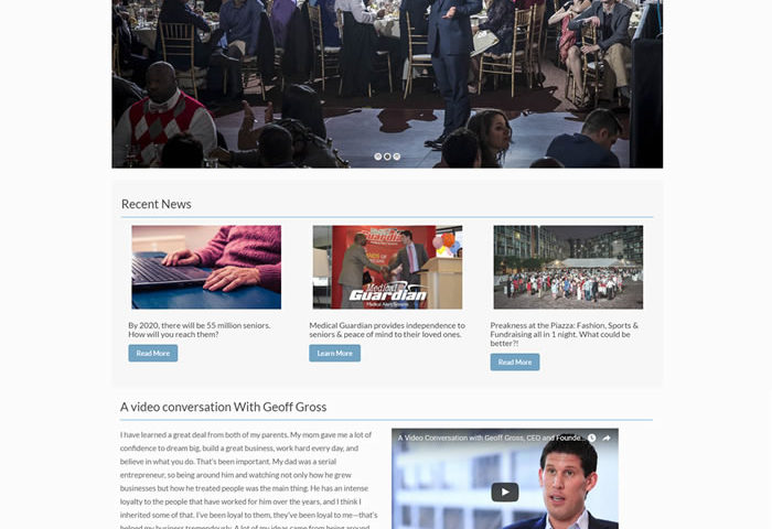 Geoff Gross Web Design Portfolio