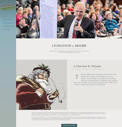 Philadelphia Web Design - The Christmas Trial